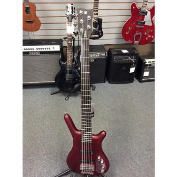 Custom Warwick Rock Bass 5 String 2016 Satin Red