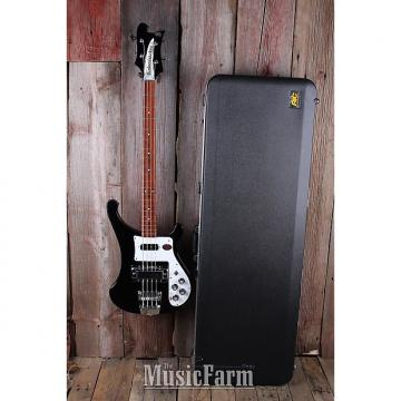 Custom Rickenbacker 4003S JG Jet Glo 4 String Electric Bass Guitar w Hardshell Case USA