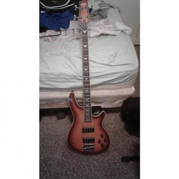 Custom Schecter Omen Extreme 4 Bass 2014 2 Color Sunburst