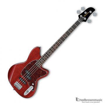 Custom Ibanez TMB100 4-String Talman Bass - Transparent Red - 2015 Model Closeout