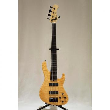Custom Sadowsky NYC Modern 5 String FretlessBass 2011 Golden Amber