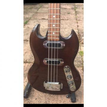 Custom Hofner SG400 (model 190 1970 Transparent Dark Brown