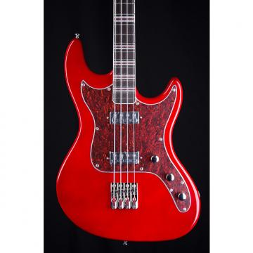 Custom Hofner HCT Galaxie Short Scale Bass Guitar in Red