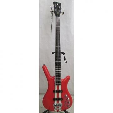 Custom Warwick RockBass Corvette Basic 4 Bass   Racing Red w/ free hard case