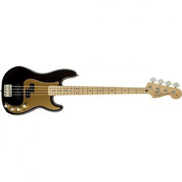 Custom Fender Deluxe Active P Basså¨ Special, Maple Fingerboard, Black 0135762306