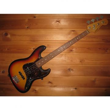 Custom Fernandes The Revival Jazz Bass Type 80's Sunburst