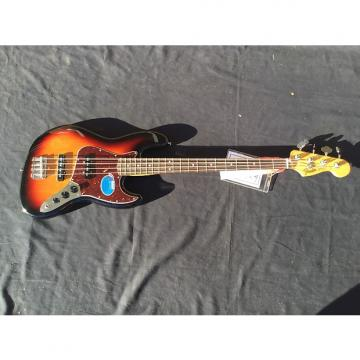 Custom Fender Classic Series '60s Jazz Bass Brown Sunburst with Free Shipping
