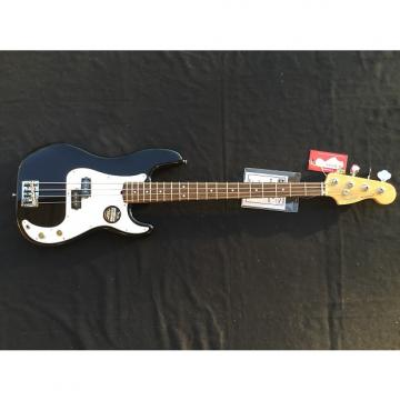 Custom Fender American Standard P Bass Black Rosewood with Free Shipping