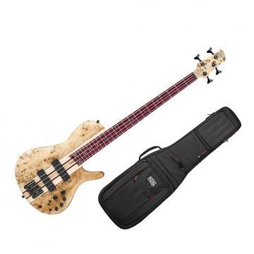 Custom Ibanez SRSC800 Deep Natural Flat Bass Workshop w/Gig Bag