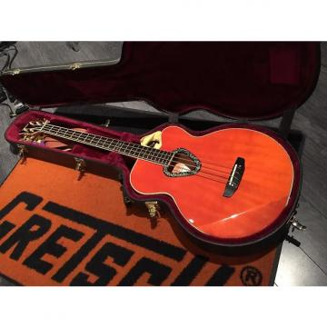 Custom Gretsch G6175 Acoustic Electric Bass w/Case