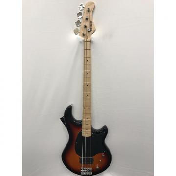 Custom Fernandes Atlas 4X Electric Bass - Sunburst