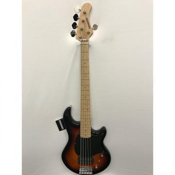 Custom Fernandes Atlas 5X Electric Bass - Sunburst