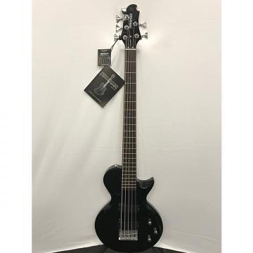 Custom Fernandes Monterey 5 X Bass Guitar - Black