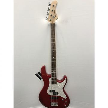 Custom Fernandes Retrospect 4 X Bass Guitar - Candy Apple Red