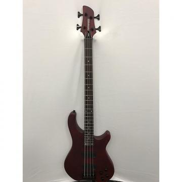 Custom Fernandes Tremor 4 Deluxe Electric Bass - Wine Red Satin