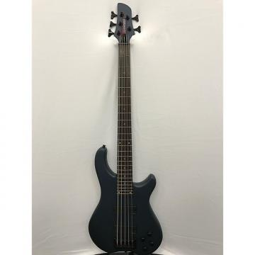 Custom Fernandes Tremor 5 Deluxe Electric Bass - Gunmetal Blue Satin