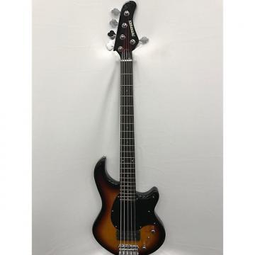 Custom Fernandes Atlas 5 Deluxe Bass Guitar - 3 Tone Sunburst