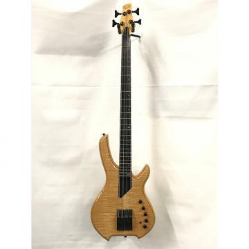 Custom Willcox Saber VL Fretted 2016 Transparent Natural LightWave Electric Bass Guitar 4-String Showroom!