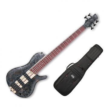 Custom Ibanez SRSC805 Deep Twilight Flat Bass Workshop w/Gig Bag