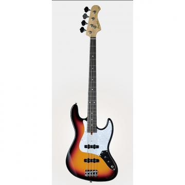 Custom Bacchus Global Series - WL-001 - 4 String Bass - 3 Tone Sunburst - NEW - Clearance - Last one left