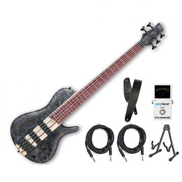 Custom Ibanez SRSC805 Deep Twilight Flat Bass Workshop Bonus Kit