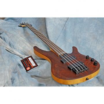 Custom Original Washburn BB4 Cocobolo bass Active soapbar Pickups nicely balanced