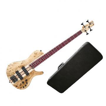 Custom Ibanez SRSC800 Deep Natural Flat Bass Workshop w/Hard-Shell Case