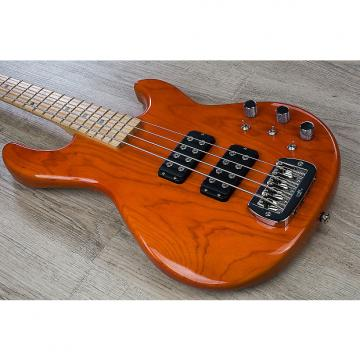 "Custom G&L USA L-2000 Electric Bass Maple Neck & Fretboard 12"" Radius Clear Orange Finish + Case"