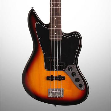 Custom Squier Vintage Modified Jaguar Special Electric Bass, 3-Color Sunburst