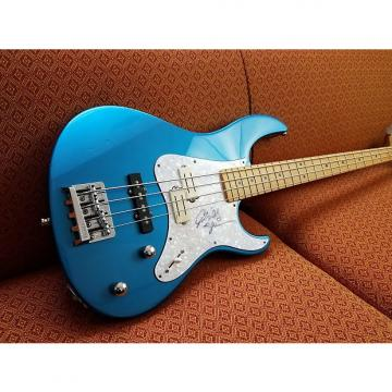 Custom Yamaha Attitude 65MP 90s Thunder Blue Metallic signed by Billy Sheehan