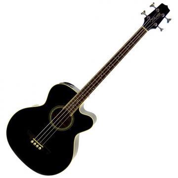 Custom Takamine EGB2S 4-String Acoustic Electric Bass - w Hardshell Case