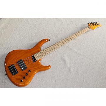 Custom MTD Kingston Artist Amber Orange 4 string bass