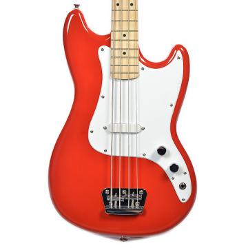 Custom Squier Bronco Bass Torino Red
