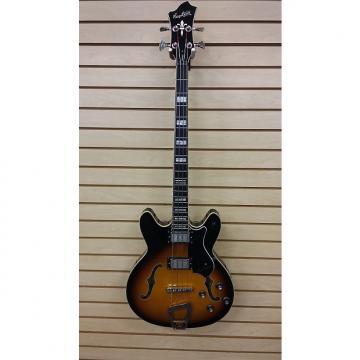 Custom Hagstrom Viking Bass 2014 2 Color Sunburst