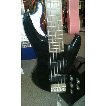 Custom DeArmond  Pilot Pro IV  Trans Black 5 String Bass Guitar