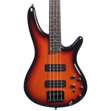 Custom Ibanez SR370E-AWB Bass Guitar, Aged Whiskey Burst