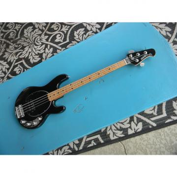 Custom 2000 Music Man Stingray 4 String Bass Black Sparkle With Matching Headstock