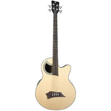 Custom Warwick RockBass Alien Acoustics Deluxe 4-String Acoustic-Electric Bass - Natural