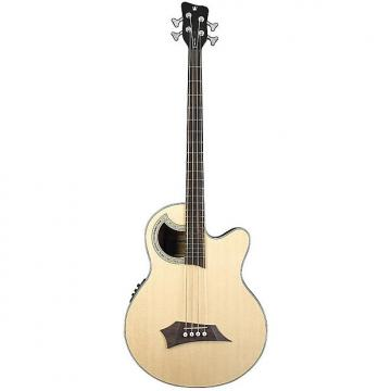 Custom Warwick RockBass Alien Acoustics Deluxe 4-String Acoustic-Electric Bass - Natural