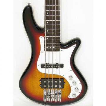 Custom Schecter Stiletto Vintage-5 Five-String Electric Bass Guitar Sunburst
