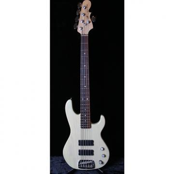 Custom G&L L-5500 1995 Transparent White - Made in USA