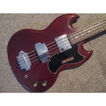 Custom Avon SG bass Early 70's maroon