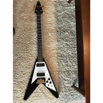 Custom Epiphone Flying V Bass Ebony