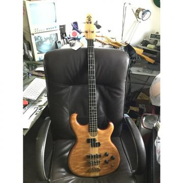 Custom Alembic Persuader Bass Guitar 1986 Quilted Maple
