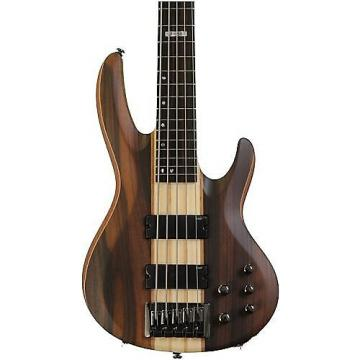 Custom LB5ENS 5-String Electric Bass Guitar, Satin Natural