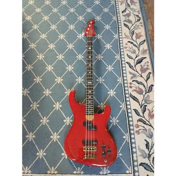 Custom Alembic Elan Bass Guitar 1988 Cherry Red