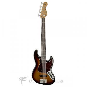 Custom Fender Deluxe Active Jazz Bass - Brown Sunburst - 0136860332 - 717669299798