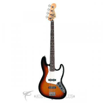 Custom Fender Standard Jazz Bass Rosewood Fingerboard - Brown Sunburst - 0146200532 - 885978112210