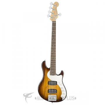 Custom Fender American Elite Dimension Bass V HH 5 Strings Electric Bass Guitar Violin Burst - 193000733