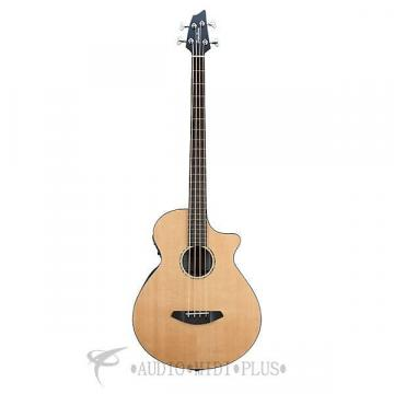 Custom Breedlove Solo Bass Acoustic/Electric Bass Guitar-Natural - SLBAEBG - 875934005700